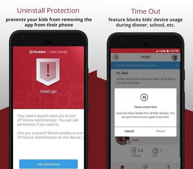 McAfee Safe Family app keeps your children safe, free for LG