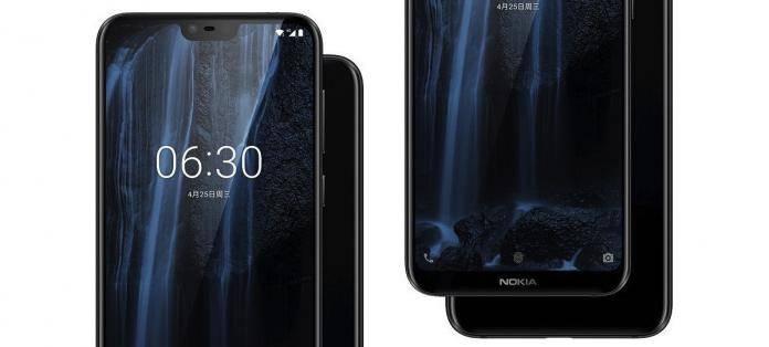 Nokia X6 Nokia 6.1 Plus