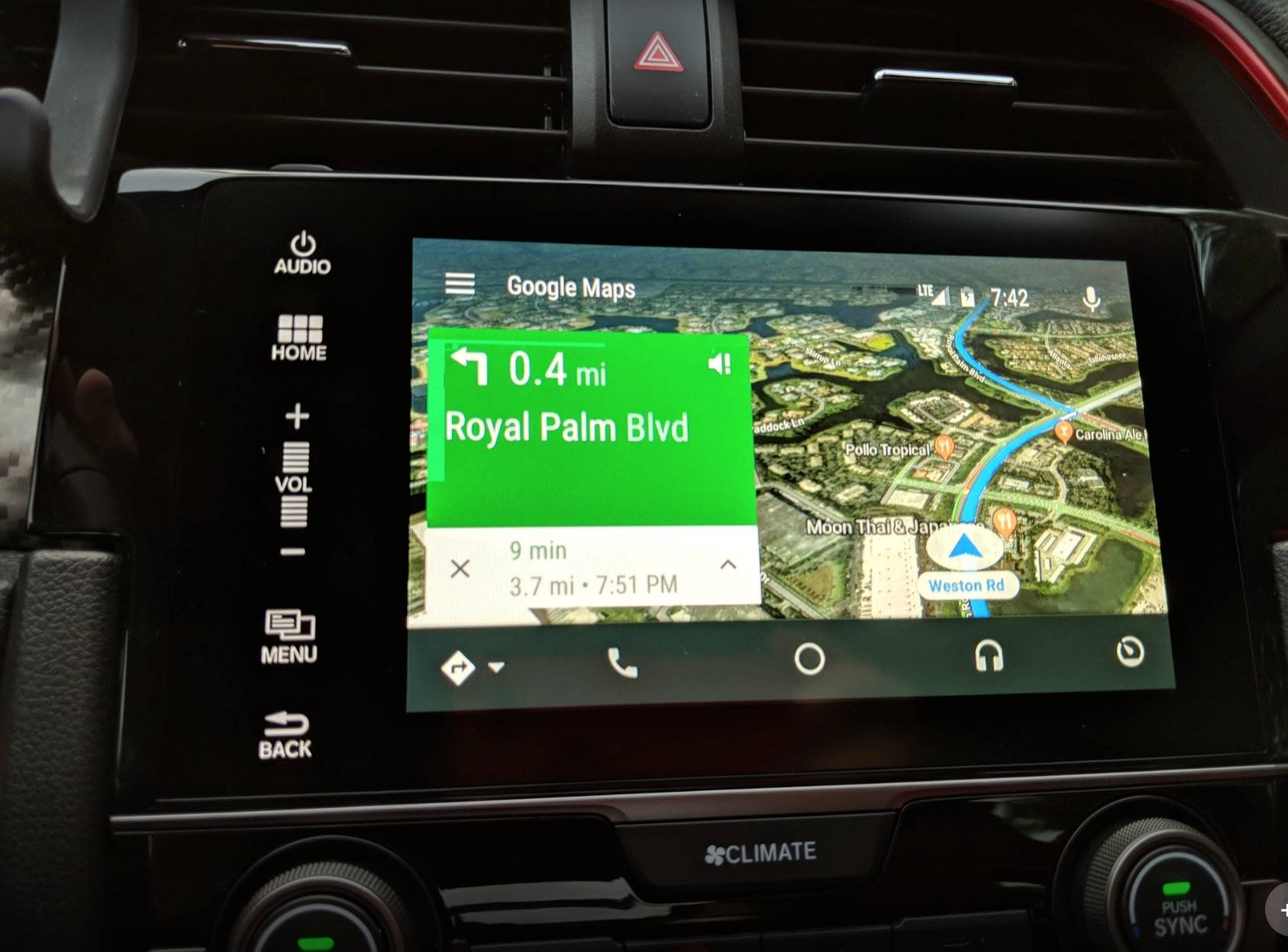 Google Maps' satellite view finally comes to Android Auto ... on google map marseille, land navigation, google places, openstreetmap navigation, google navigation app, phone navigation, google search navigation, google india map, google map manitoba canada, google map of alberta, google map texas a&m, google map pin, google search mapquest, here navigation, google now traffic, google earth, gps navigation, google satellite map, google quick search box, google map example,