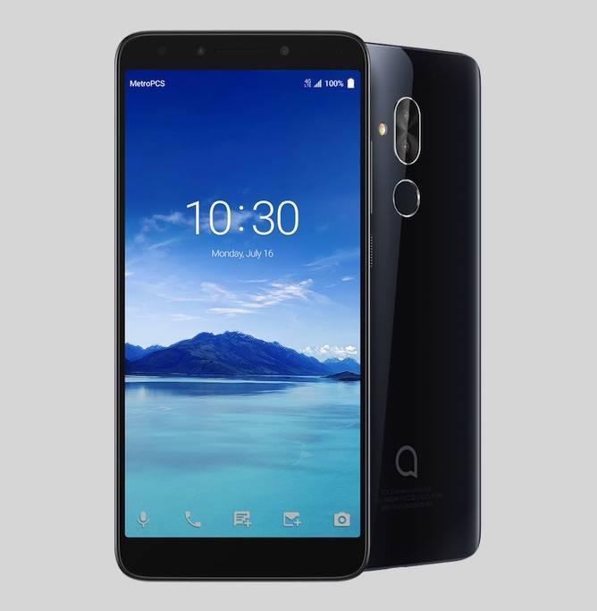 Alcatel 7 exclusive value phone from MetroPCS - Android