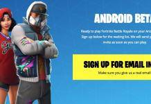 Android Beta Fortnite Epic Games