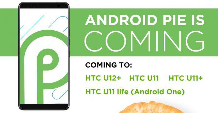 Android Pie HTC Phones