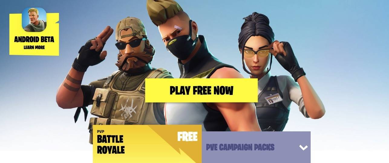 Fortnite Battle Royale for Android