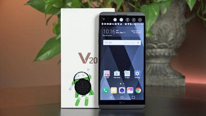 LG V20 Android 8.0 Oreo Upgrade