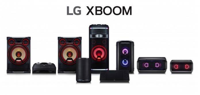 LG XBOOM AUDIO