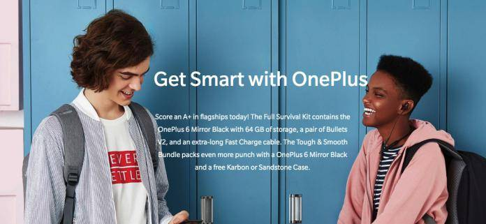 OnePlus 6 back-to-school bundles now available - Android