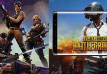 PUBG Mobile VS Fortnite