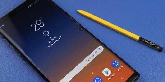 Samsung Galaxy Note 9 DisplayMate