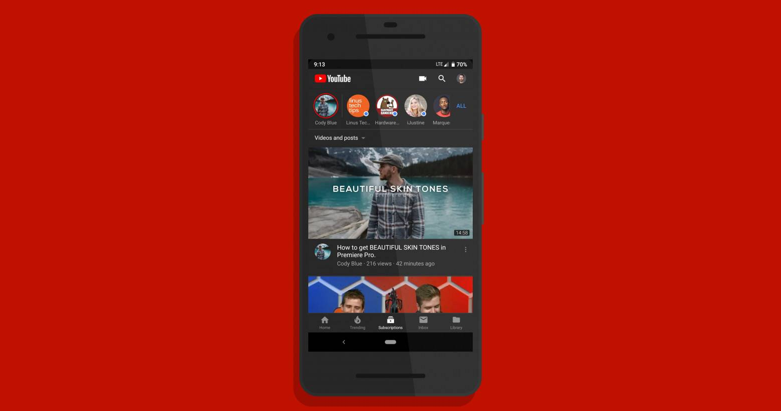 HOW TO: Enable YouTube app's 'dark' theme without the ...