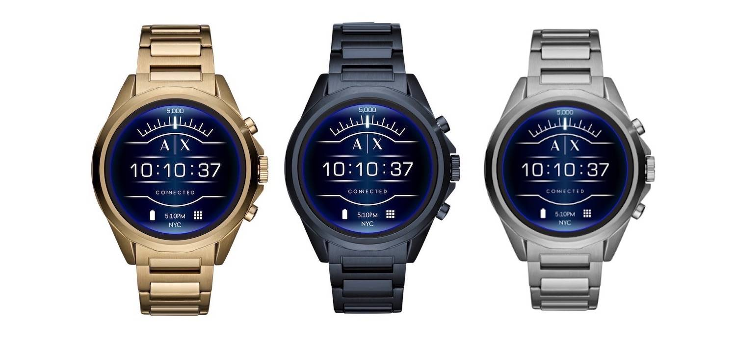 armani exchange touchscreen smartwatch