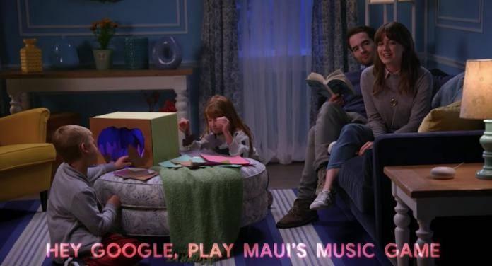 Go on an Adventure with Maui on Google Home