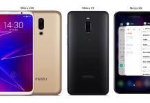 Meizu 16X Meizu V8 Meizu X8 Smartphones