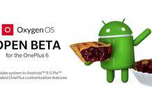 Oxygen OS Open Beta 1 OnePlus 6