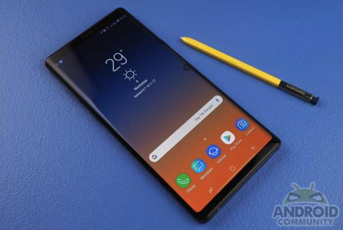 Samsung Galaxy Note 9 Consumer Reports 2018