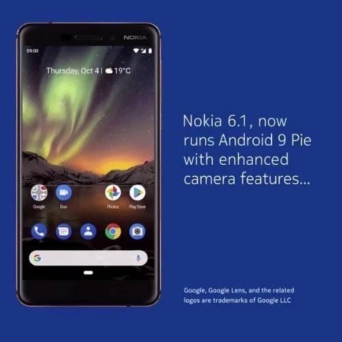 android 9 pie nokia 6 2017