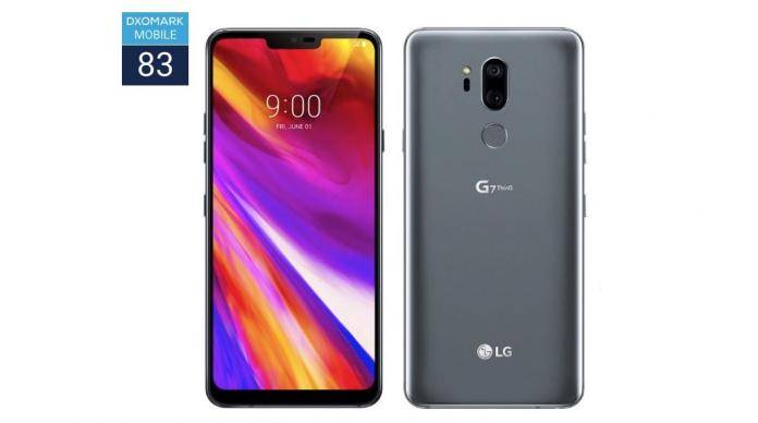 LG G7 ThinQ DXOMARK MOBILE