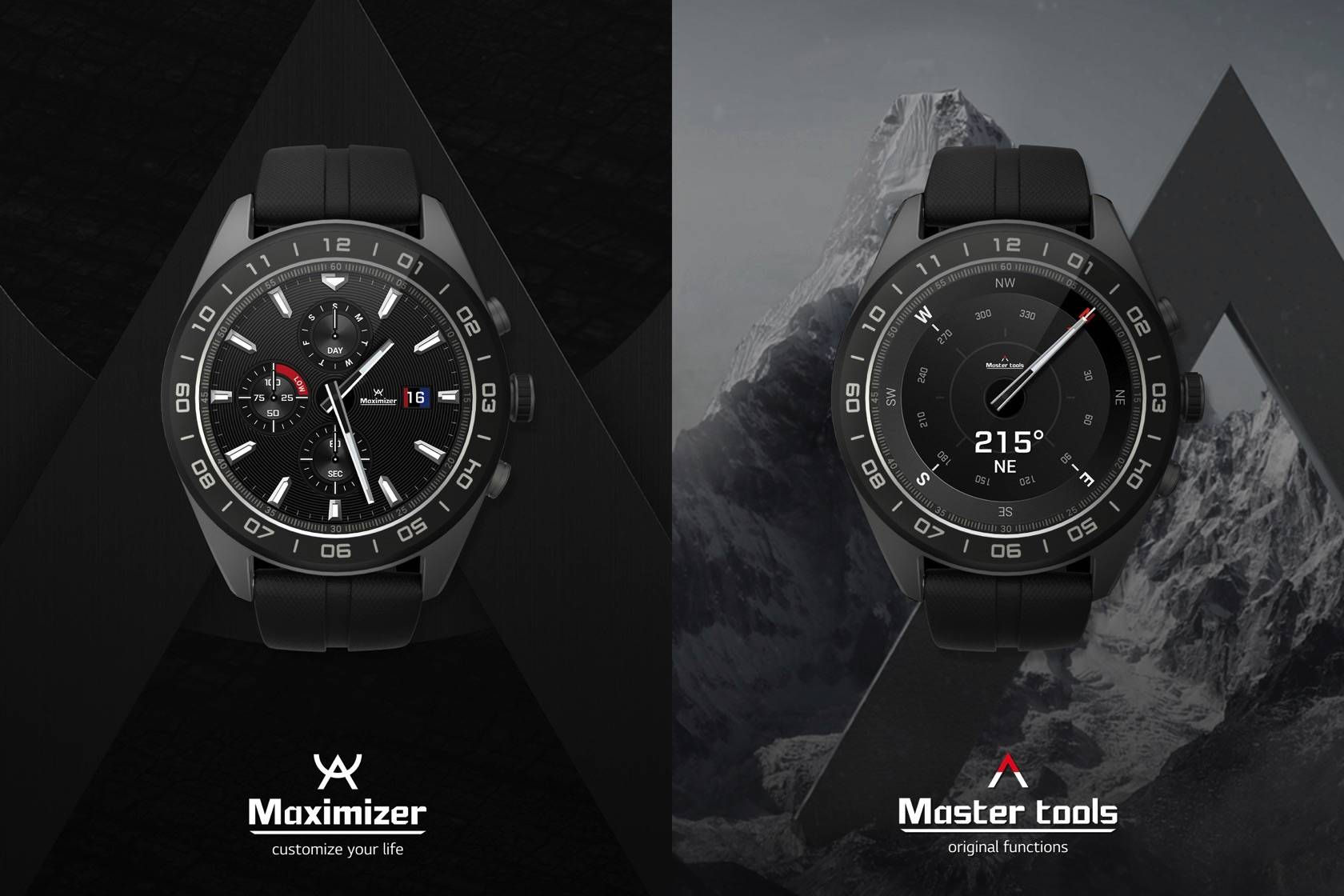 LG Watch W7: Wear OS gets mechanical hands - Android Community