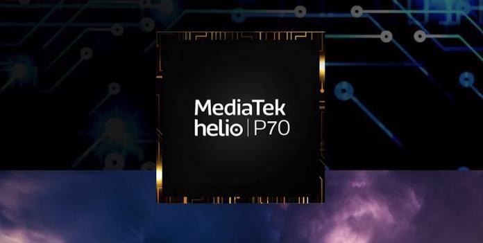 MEDIATEK Helio P70 mobile processor concept