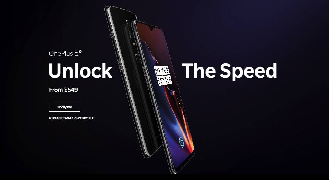 OnePlus 6T T-Mobile-locked model only supports single SIM