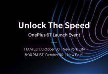 OnePlus 6T Unlock the Speed