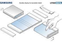 SAMSUNG Flexible and Bendable Display