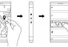 Samsung Smartphone Flexible Display
