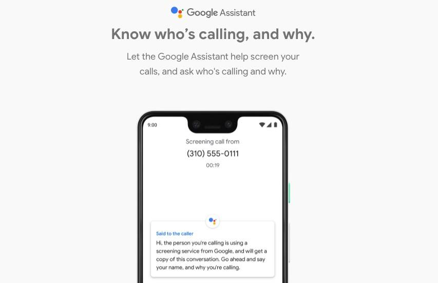 android announce caller name
