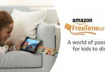 Amazon FreeTime Unlimited subscription audiobooks for kids