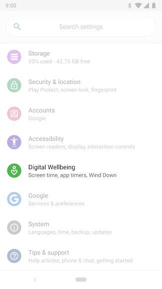 Digital Wellbeing exits beta phase on Android 9 Pie - Android Community