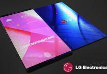 LG Bendi foldable smartphone