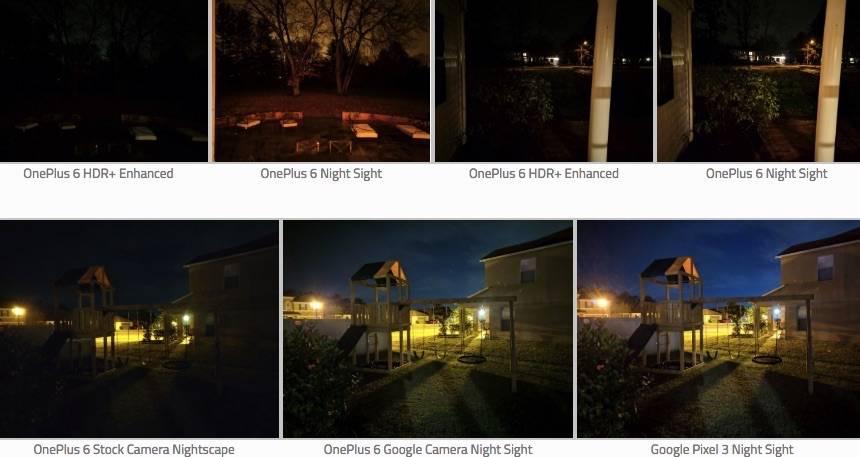 OnePlus 6 OnePlus 6T Night Shight