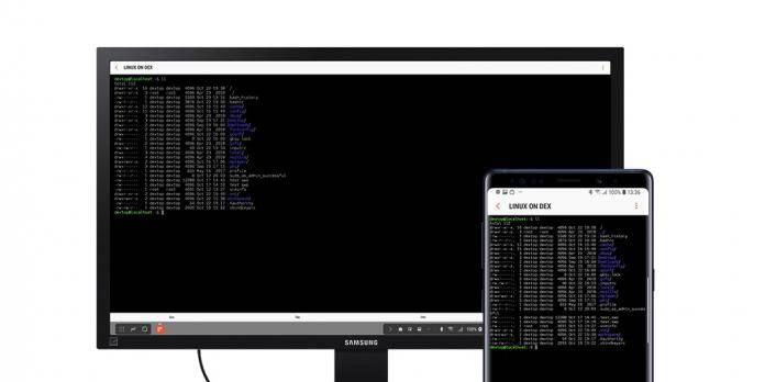 Samsung Linux on Dex