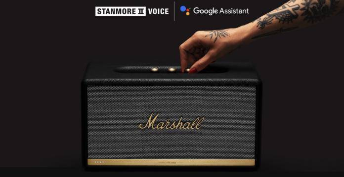 Marshall Stanmore II Google Assistant