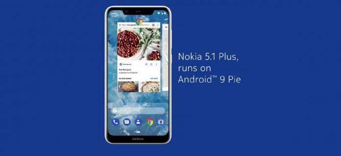 Nokia 5.1 Plus Android 9 Pie Update