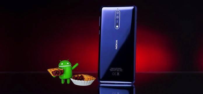 Nokia 8 Android 9 Pie