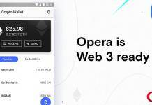 Opera Web 3-ready browser Android