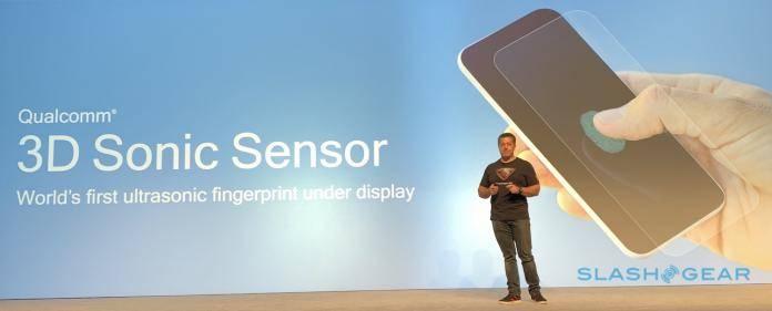 Qualcomm in-display fingerprint sensor
