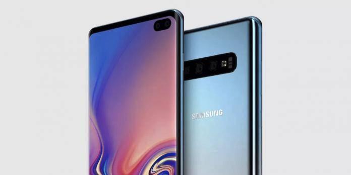 Samsung Galaxy S10 Triple Cameras Dual Selfies