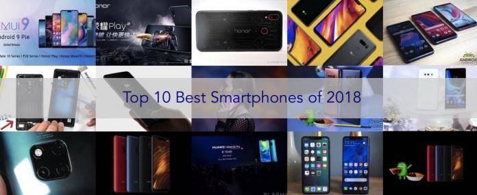 Top 10 Best Android Smartphones of 2018