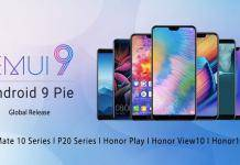 Android 9 Pie EMUI 9