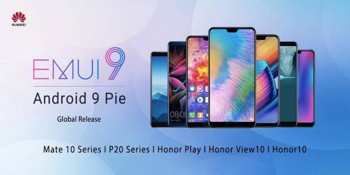 Android 9 Pie EMUI 9