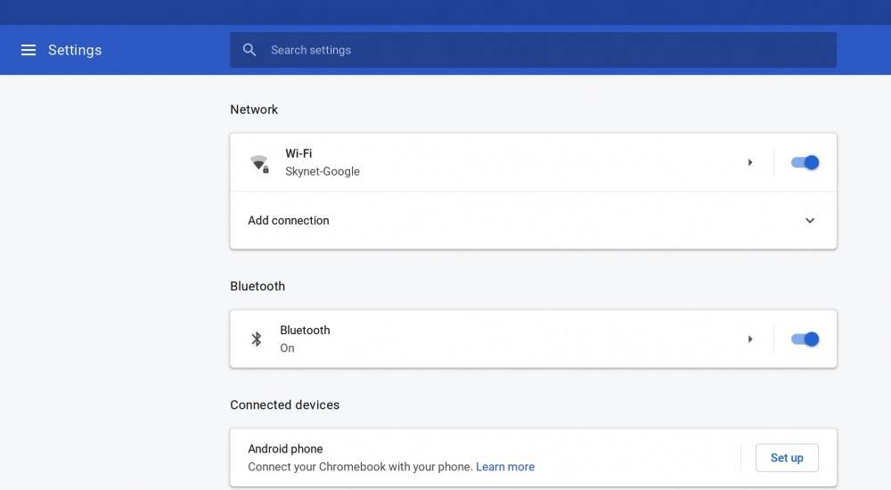 Chrome OS Instant Tethering can be enabled on other Android phones