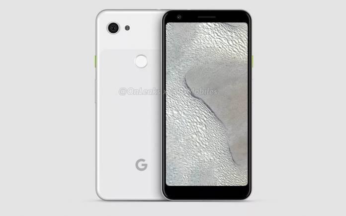 Google Pixel 3 Lite XL Render