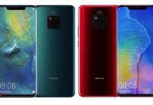 HUAWEI Mate 20 Pro UD Comet Blue Fragrant Red