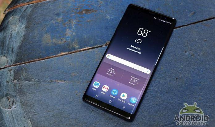 Samsung Galaxy Note 8 ONE UI