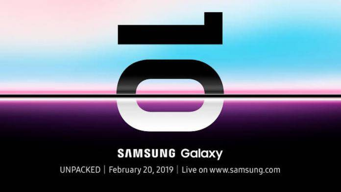 Samsung Galaxy S10 X Galaxy 5G phone