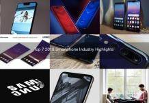 Top 7 2018 Smartphone Industry Highlights