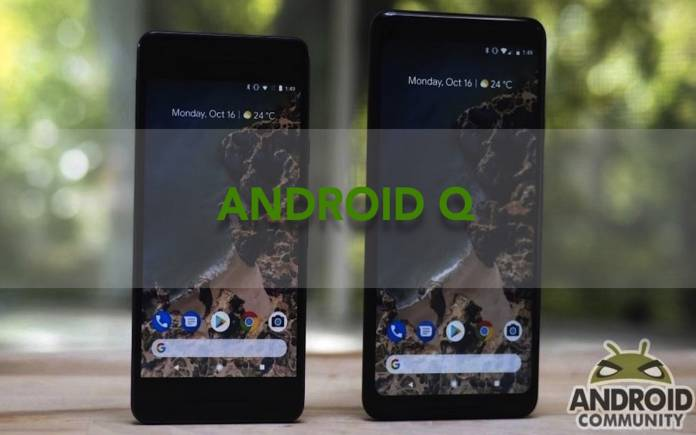 Android Q Google features