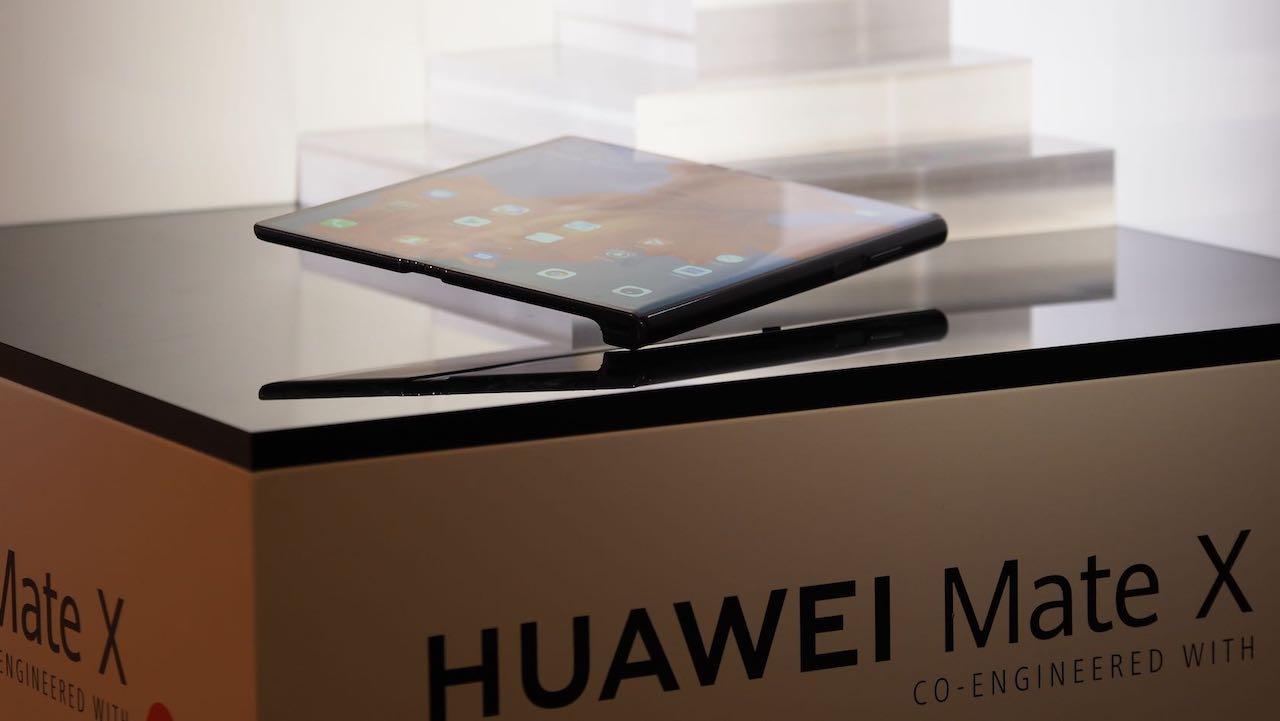 Huawei Mate 5G foldable phone