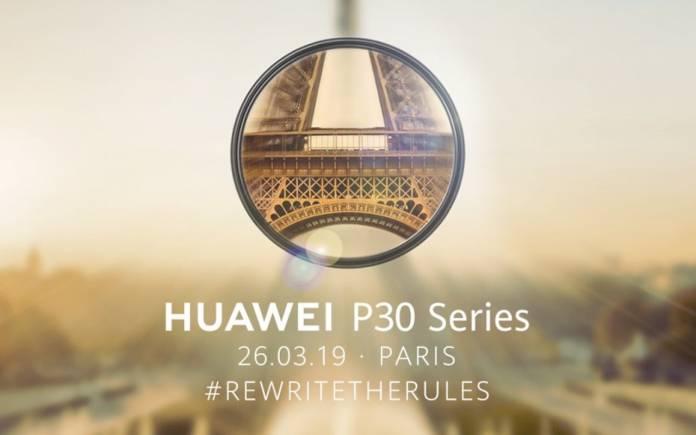 Huawei P30 PARIS FRANCE MWC 2019